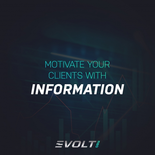 Motivate your clients with information. B2B 2