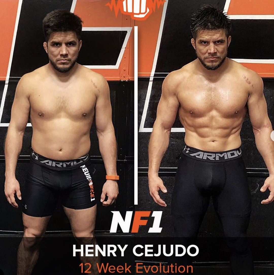 Image of Henry's Before & After Body Composition Transformation