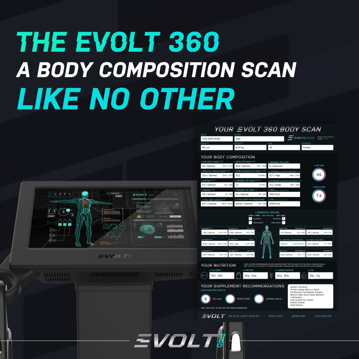 Evolt 360 Body Scanner Image