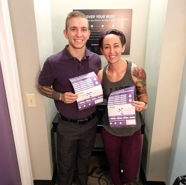 Alicia & Niko, Anytime Fitness Concord Members