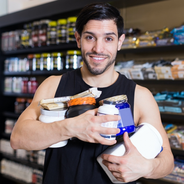 Supplement Store Promotion